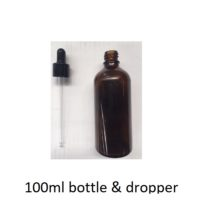 100 ml bottle and dropper