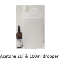 Acetone 2 Litre with 100ml dropper